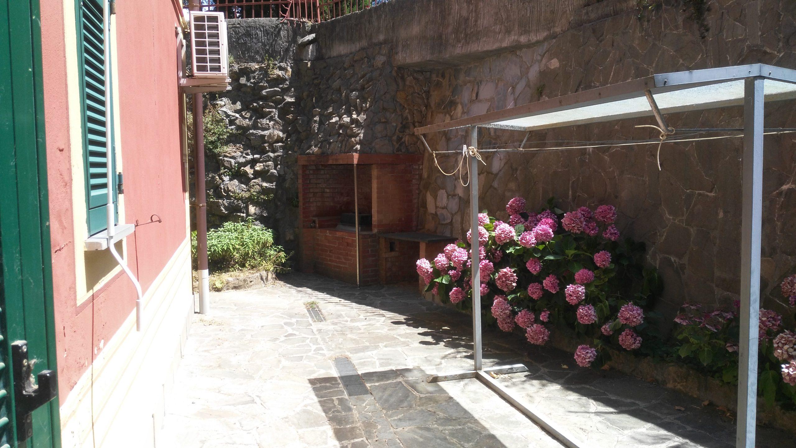 Santa Margherita ligure vendita appartamento con giardino